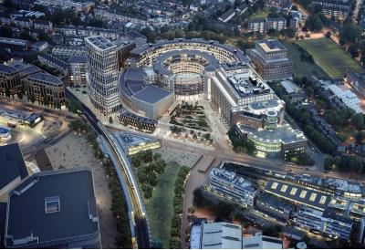 """[エリア開発]横浜駅西口開発ビル計画の建物名称""""JR横浜タワー""""等に決定。NEWoMan、T-JOY等の複合施設、2020年開業予定"""