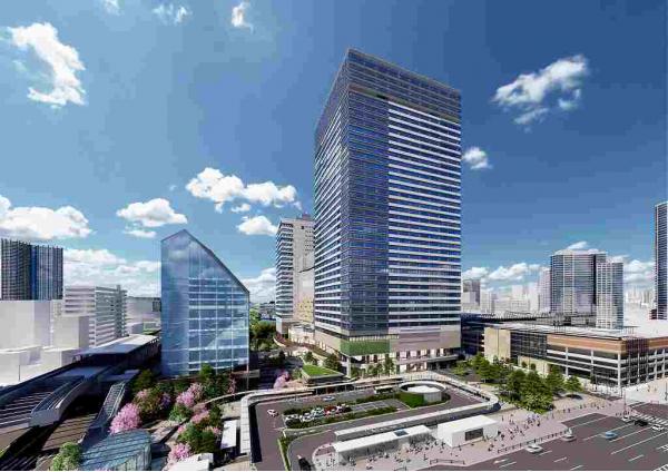 オフィス・商業施設・ホテルが揃う豊洲エリア最大の再開発プロジェクト「豊洲ベイサイドクロス」が2020年4月24日(金)グランドオープン決定