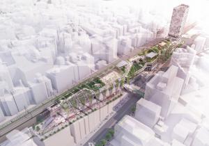 <公園×商業×ホテルが一体となった新しいミクストユース型プロジェクト> 「MIYASHITA PARK」2020年6月グランドオープン